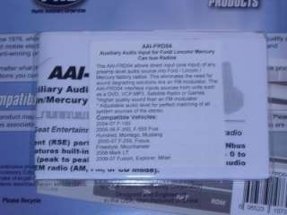 PAC AAI FRD04 FORD/LINCOLN/MERCURY AUX/IPOD IN CANbus