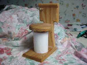 Really Cute Spare Wooden Toilet Tissue Paper Holder