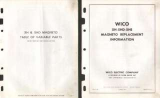 CASE C CC D L LA and more TRACTOR WICO MAGNETO GUIDE