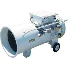 HEATER   Portable   Industrial   Direct Fired   Dual Fuel VP/NG/LP