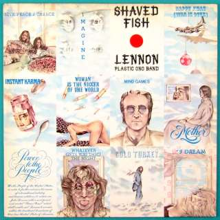 LP JOHN LENNON SHAVED FISH ROCK PSYCH BEATLES 75 BRAZIL