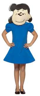 LUCY CHILD Kids Blue Dress Headpiece Costume Halloween 7 10