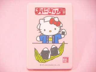 hello kitty folding rice ball box brand new size about 2 1 x 6 2 x 4 3