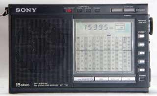 Sony ICF 7700 radio LW/AM/FM/SW 11 Receiver