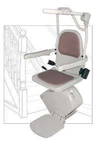 Acorn Superglide Indoor Stair Lift, Chair Lift, Stairlift