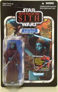 AAYLA SECURA Star Wars ROTS Vintage Collection Figure Unpunched Card