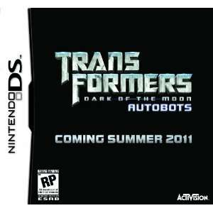 Transformers: Dark Of The Moon Autobots with Toy Car: Video Games